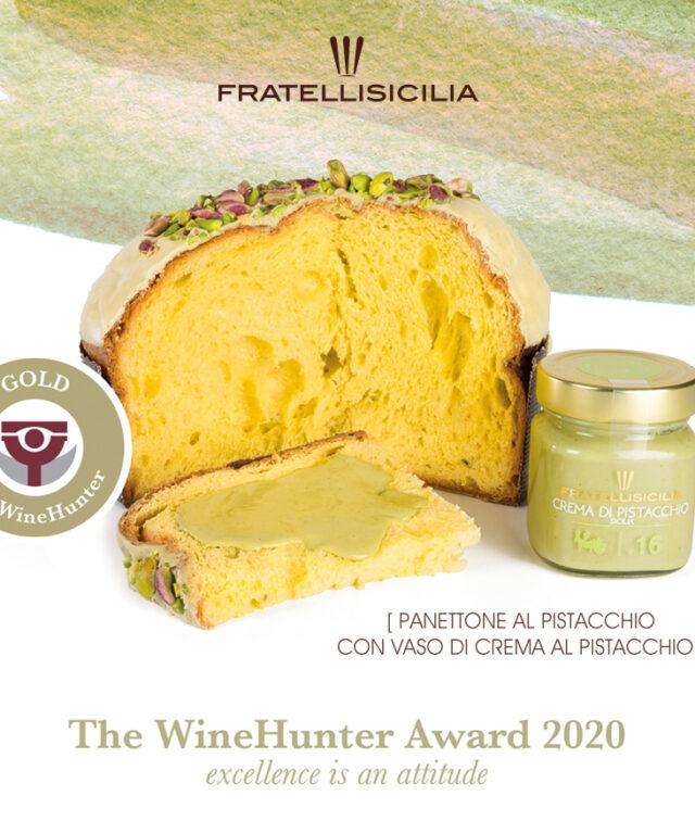 Panettone Pistacchio Fratelli Sicilia