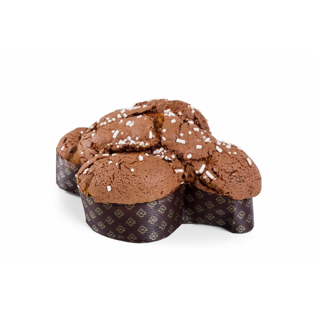 colomba cioccolato glassata