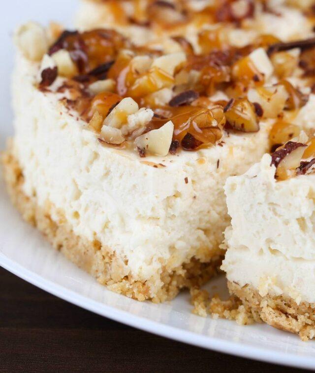 Cheesecake ai Cantucci Siciliani ricetta