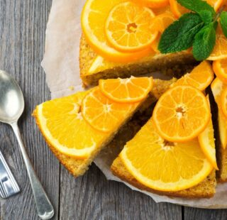 Pan di mandarino ricetta