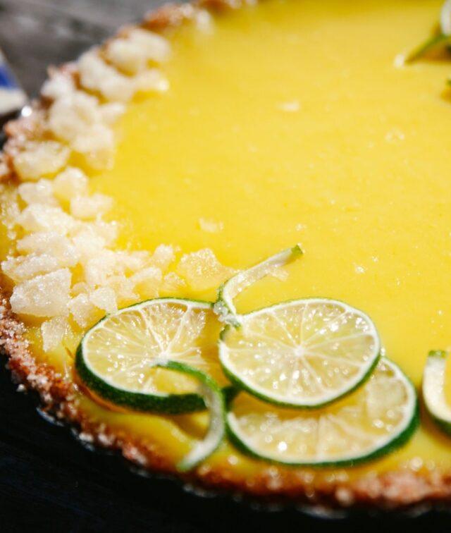 Crostata con crema di Limoni Fratelli Sicilia
